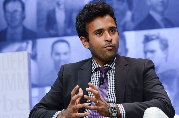 PHILADELPHIA, PA - OCTOBER 05:  Vivek Ramaswamy, Founder & CEO of Rolvant Sciences speaks at Forbes Under 30 Summit at Pennsylvania Convention Center on October 5, 2015 in Philadelphia, Pennsylvania.  (Photo by Lisa Lake/Getty Images)